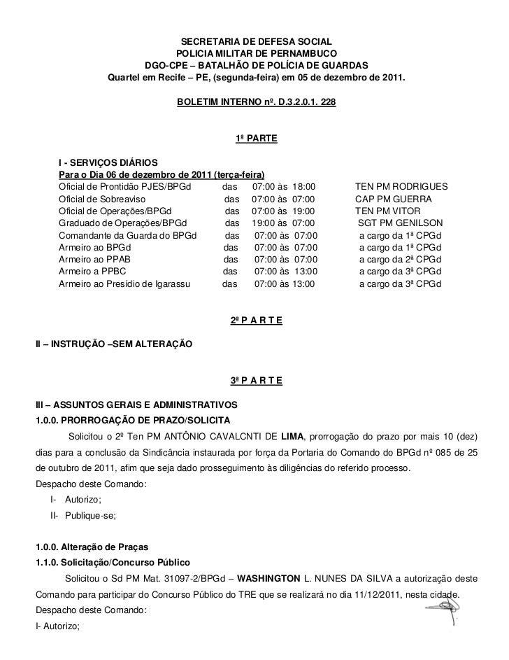 SECRETARIA DE DEFESA SOCIAL                                 POLICIA MILITAR DE PERNAMBUCO                           DGO-CP...