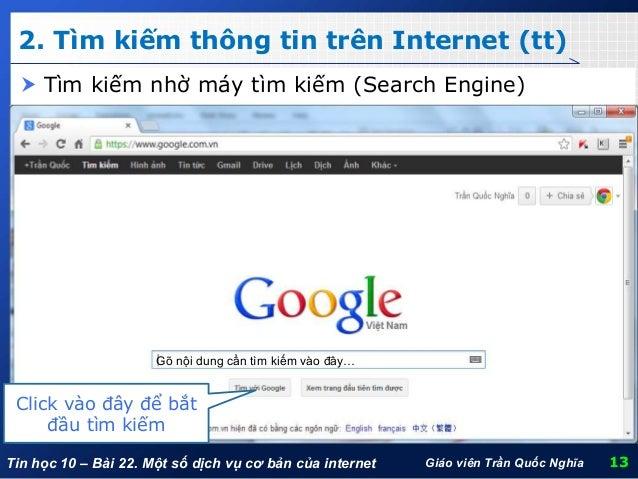 Kết quả hình ảnh cho dịch vụ trên internet tim kiem thong tin tren internet