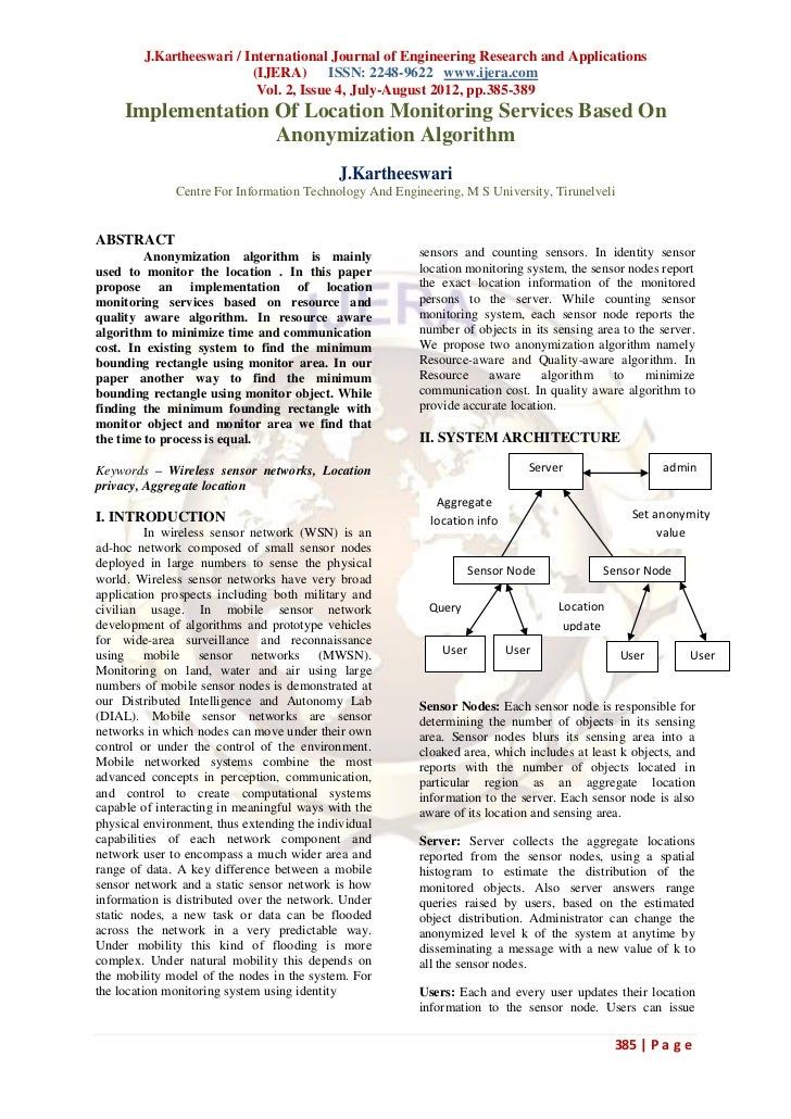 J.Kartheeswari / International Journal of Engineering Research and Applications                          (IJERA) ISSN: 224...