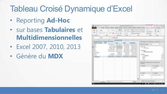 ssas 2012 multidimensionnel et tabulaire au banc dessai