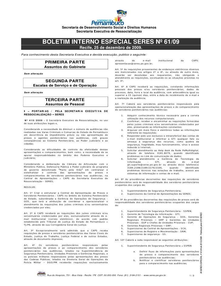 Secretaria de Desenvolvimento Social e Direitos Humanos                                          Secretaria Executiva de R...