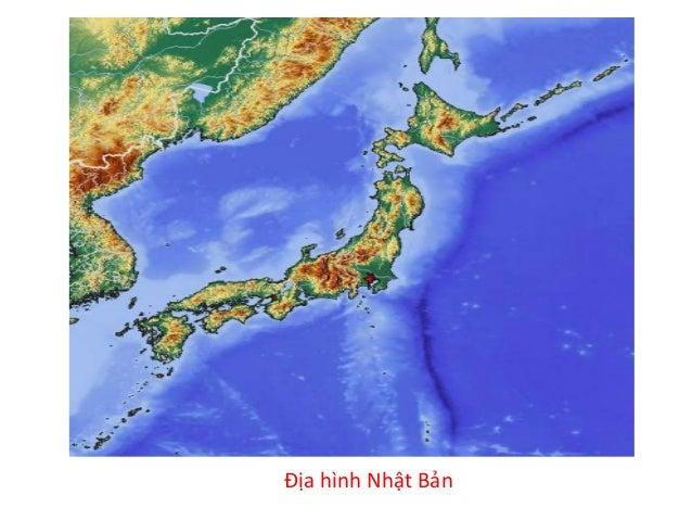 Bản đồ tự nhiên Nhật Bản