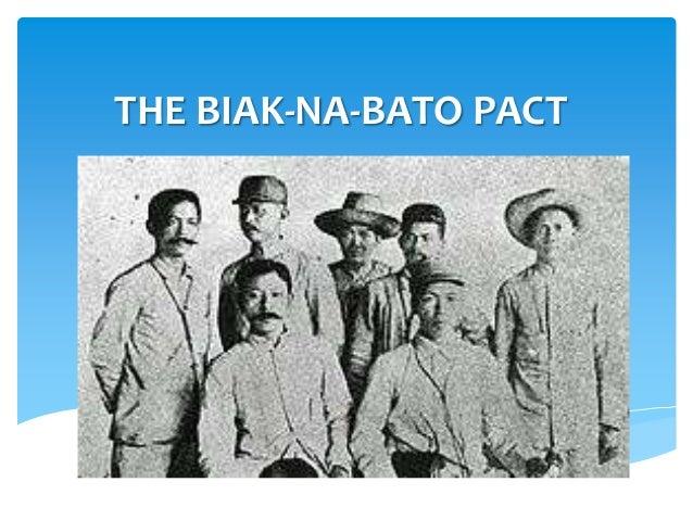THE BIAK-NA-BATO PACT