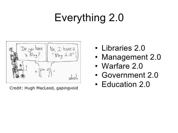People 2.0: Working in a 2.0 World Slide 3