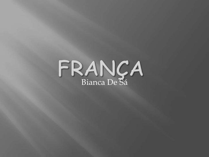 Bianca De Sá
