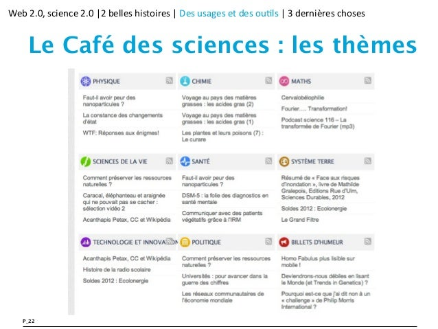 Http Www Cafe Des Sciences Fr