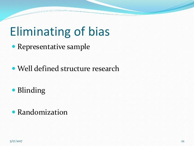 confounding bias in case control study Role of chance, bias and confounding in epidemiological studies  in a case- control study, data on exposure are collected retrospectively the quality of the.