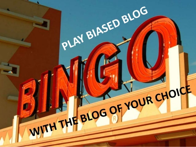 Forget gurus, the cult of the evidence-based blogger has taken over ... 'Biased BLOG Bingo' Slide 2