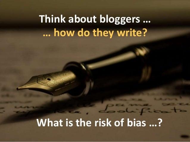 Forget gurus, the cult of the evidence-based blogger has taken over ... 'Biased BLOG Bingo' Slide 3