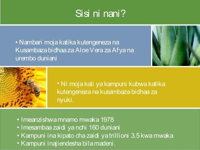 • Imeanzishwamnamo mwaka1978 • Imesambaazaidi yanchi 160 duniani • Kampuni inakipato chazaidi yatrillioni 3.5 kwamwaka • K...