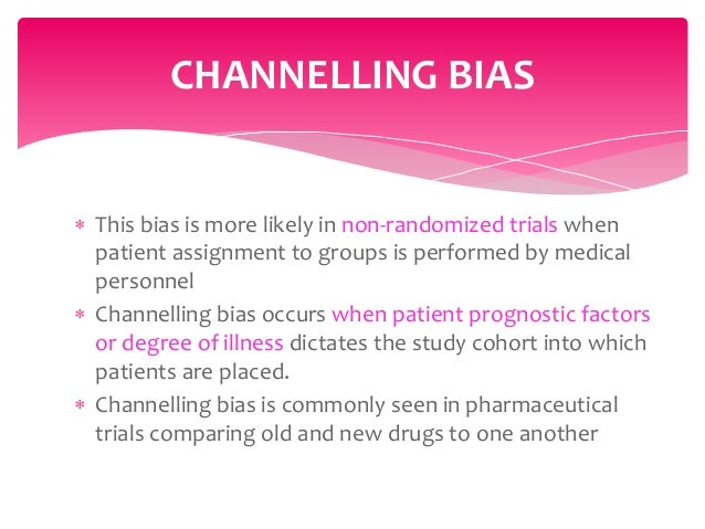 how to avoid bias in research