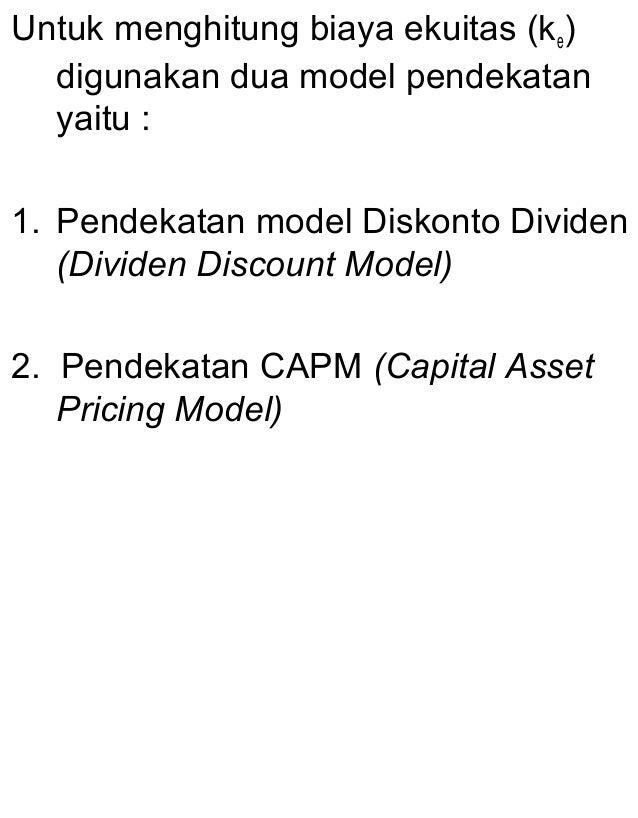 Biaya modal 3