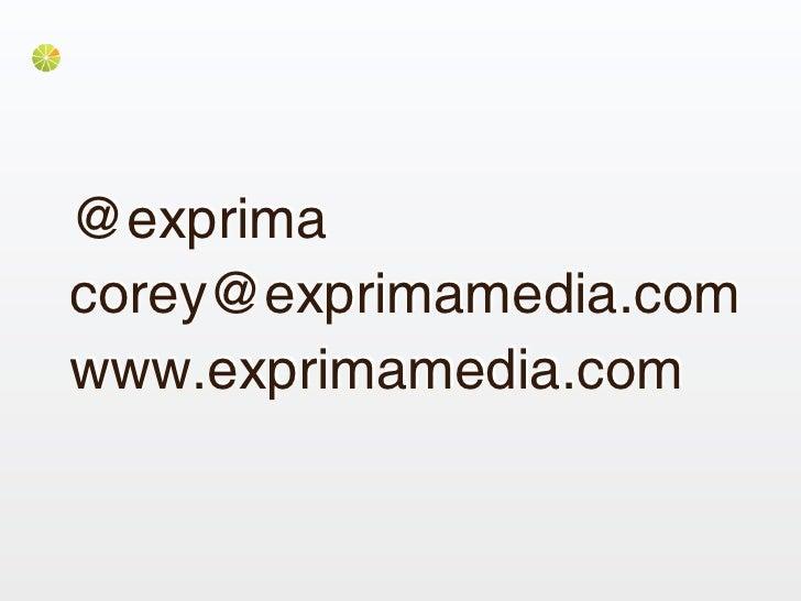 @exprimacorey@exprimamedia.comwww.exprimamedia.com
