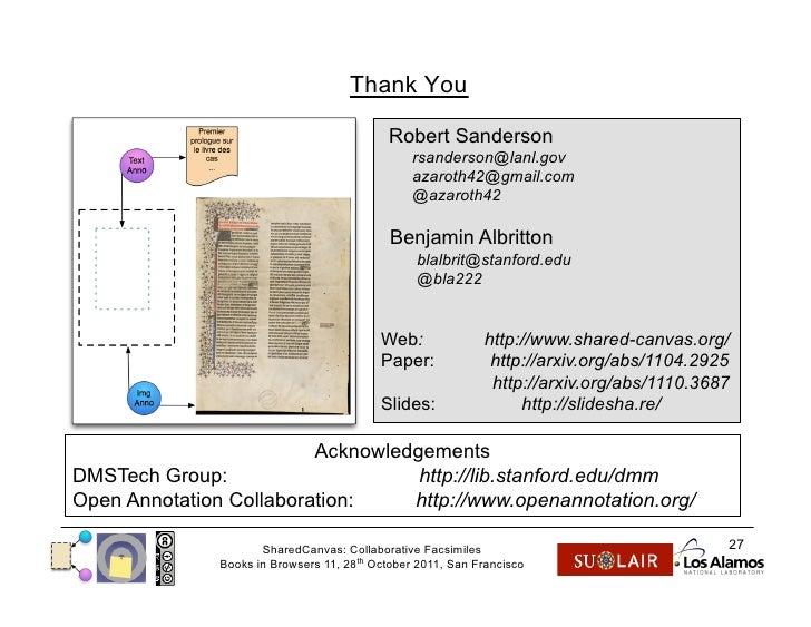 Collaborative Teaching Books ~ Books in browsers sharedcanvas collaborative facsimiles