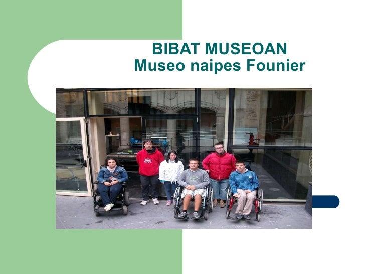 BIBAT MUSEOAN Museo naipes Founier