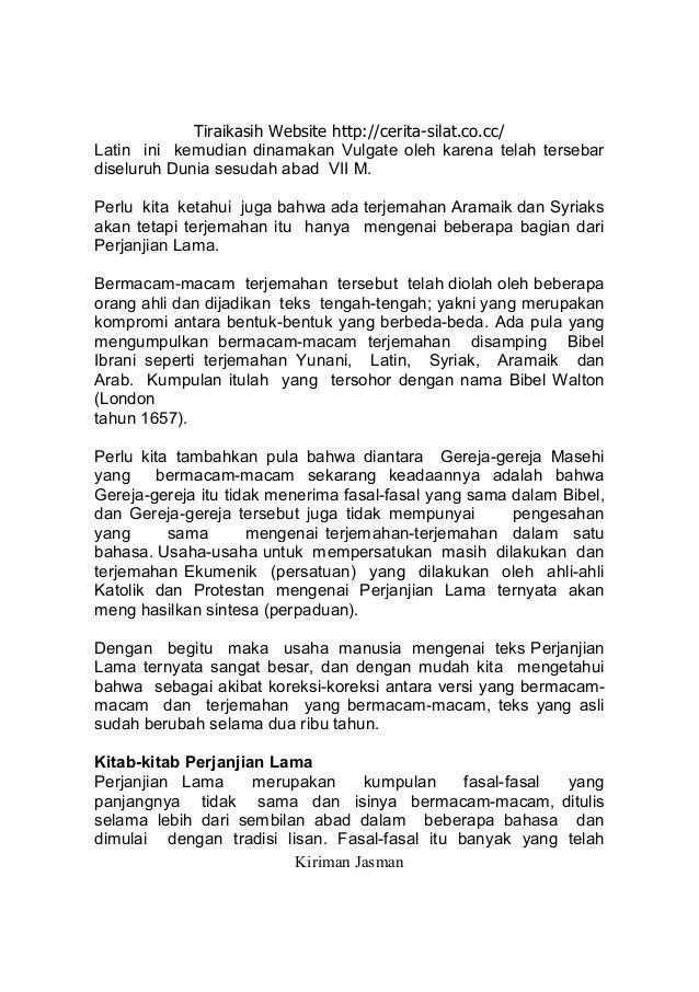 Bibel Quran Dan Sains Modern