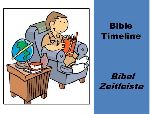 Bible Timeline Bibel Zeitleiste