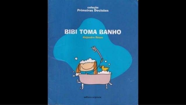 Bibi toma banho Slide 2