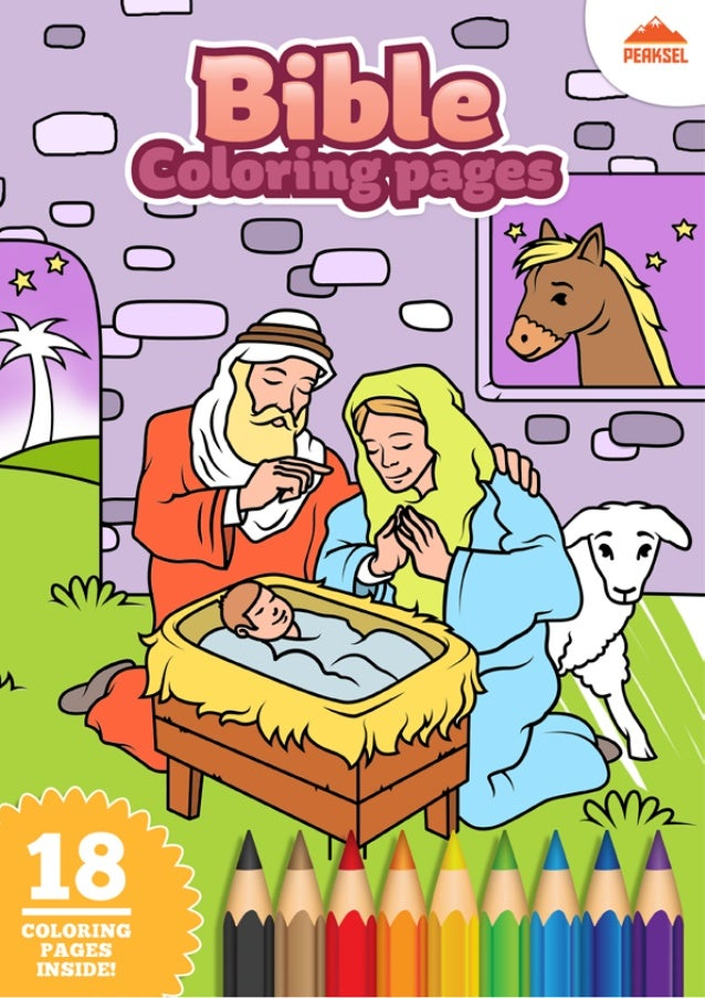 picture relating to Free Printable Books of the Bible titled Bible Coloring Internet pages Totally free Printable Coloring Ebook for Youngsters