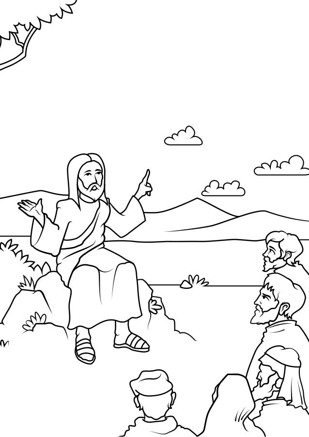 Bible Coloring Pages Free Printable Coloring Book For Kids