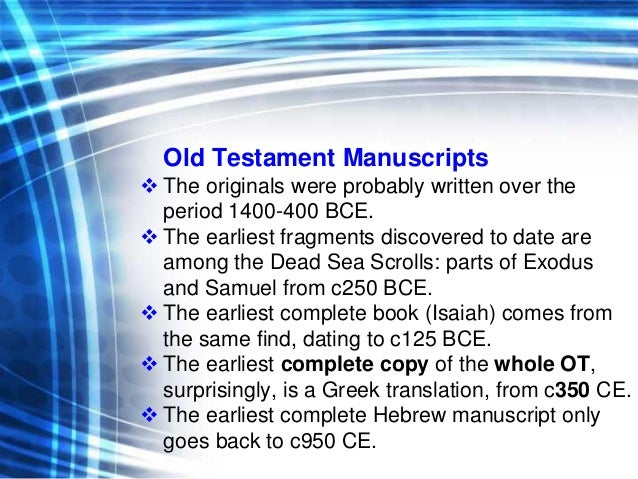 New testament manuscripts dating website 8