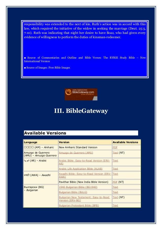 Amharic bible study pdf