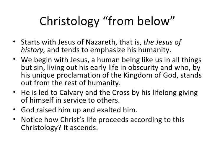 christology the life of jesus christ The life of jesus christ ever since jesus was born, he has always been perfect there have never been any flaws that had to do with him he had many different.