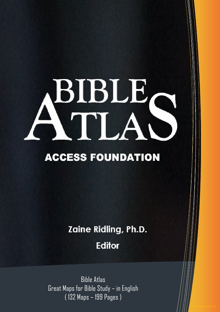 Bible Atlas Great Maps for Bible Study – in English        ( 132 Maps – 199 Pages )                           1           ...