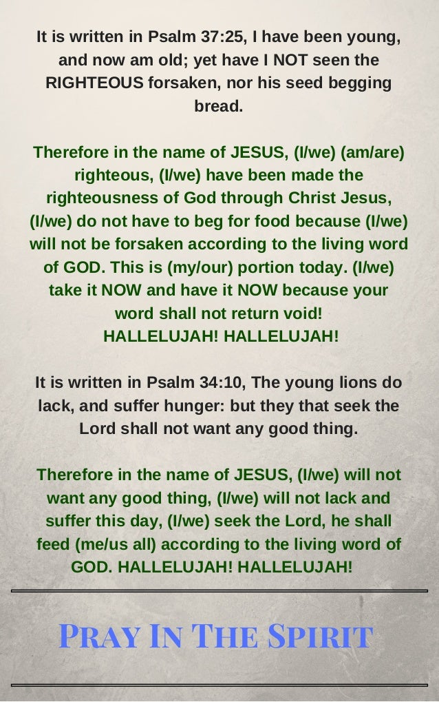 Bible based prayers from the holy bible that you can pray