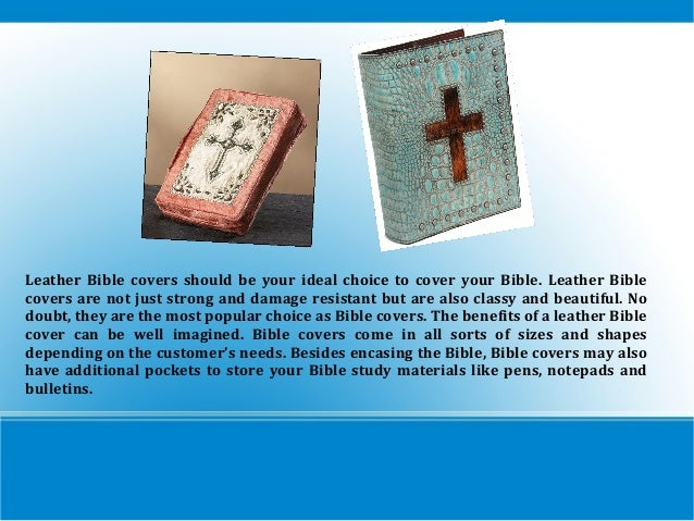 Bible covers Slide 2