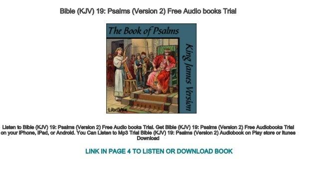 Bible (KJV) 19 Psalms (Version 2) Free Audio books Trial