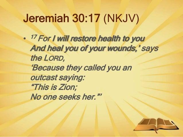 Liberty Near Me >> Bible prophecies about healing