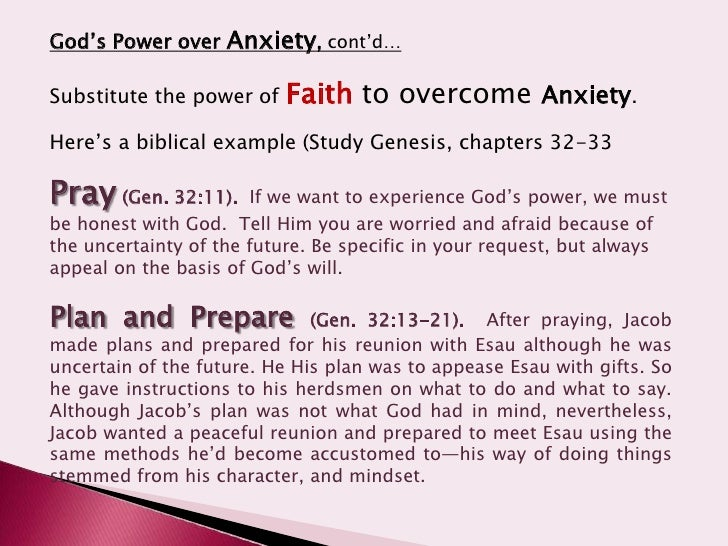 How Knowing Jesus Destroys Anxiety - Bible Study Tools