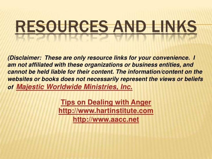 Bible Study Online Lesson 2- Anger
