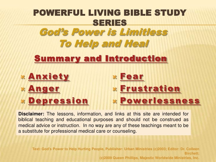 Bible Study Courses » Anger
