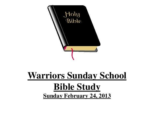 Bible study february 17 2013