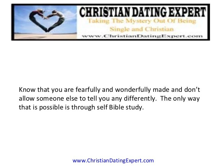 Bible study on christian dating