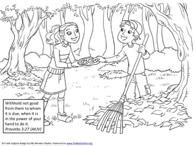 Bible Verses for Children: Generosity