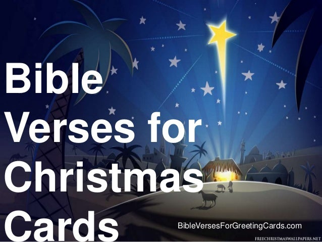 Bible Verses For Christmas Cards BibleVersesForGreetingCards.com ...