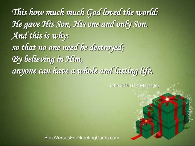 Bible verses for christmas cards m4hsunfo