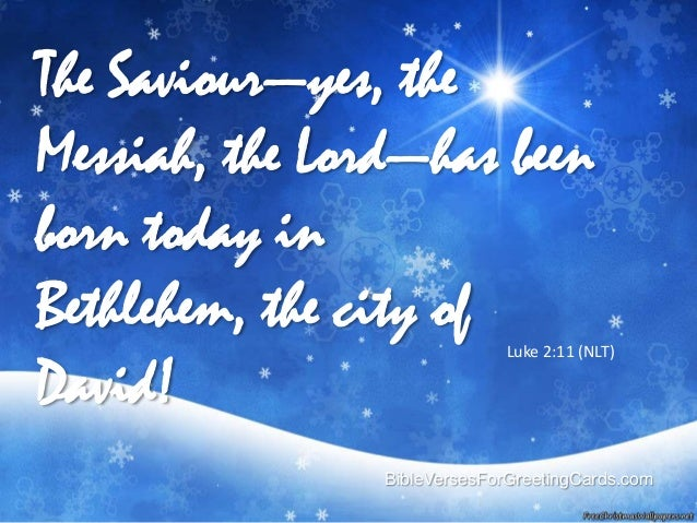 8 Biblical Christmas Quotes And Scriptures: Bible Verses For Christmas Cards
