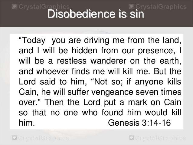Bible Verses on Sin