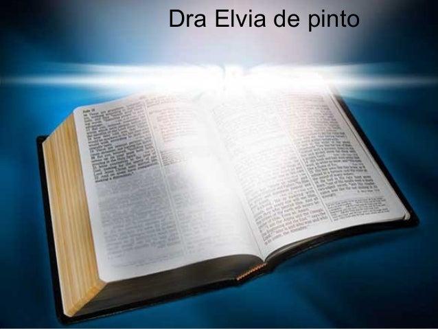 Dra Elvia de pinto