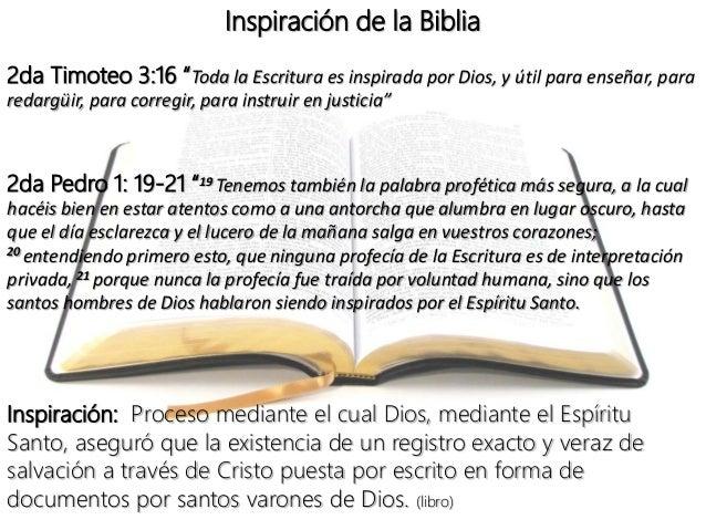 INSPIRACION DE LA BIBLIA EPUB