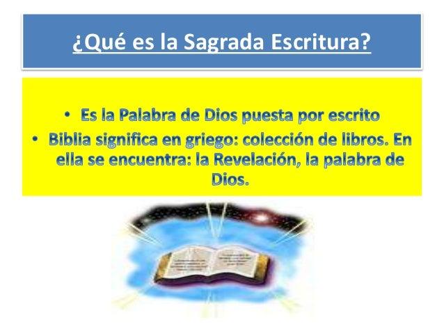 LA BIBLIA. Slide 2