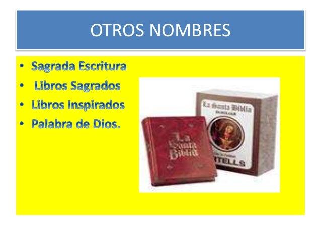 LA BIBLIA. Slide 3