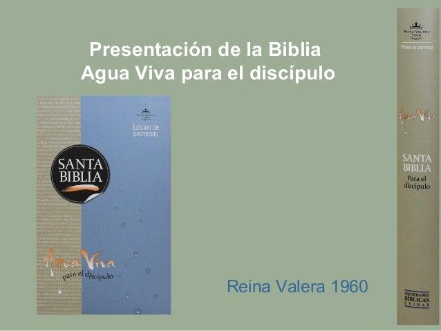El Matrimonio La Biblia Reina Valera : Biblia agua viva para el discípulo reina valera
