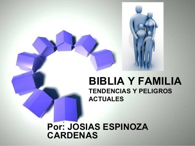 Biblia Matrimonio Familia : Biblia y familia