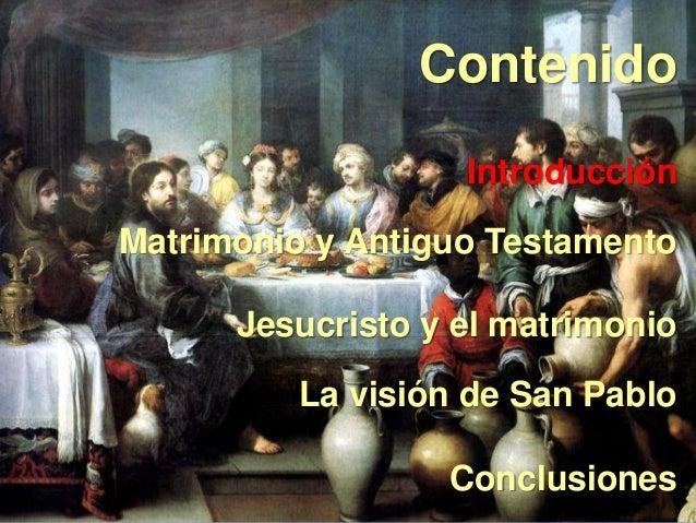 Pablo Matrimonio Biblia : Biblia y matrimonio