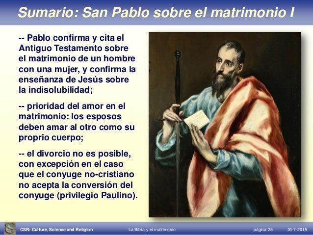 Biblia Sobre El Matrimonio : Biblia y matrimonio